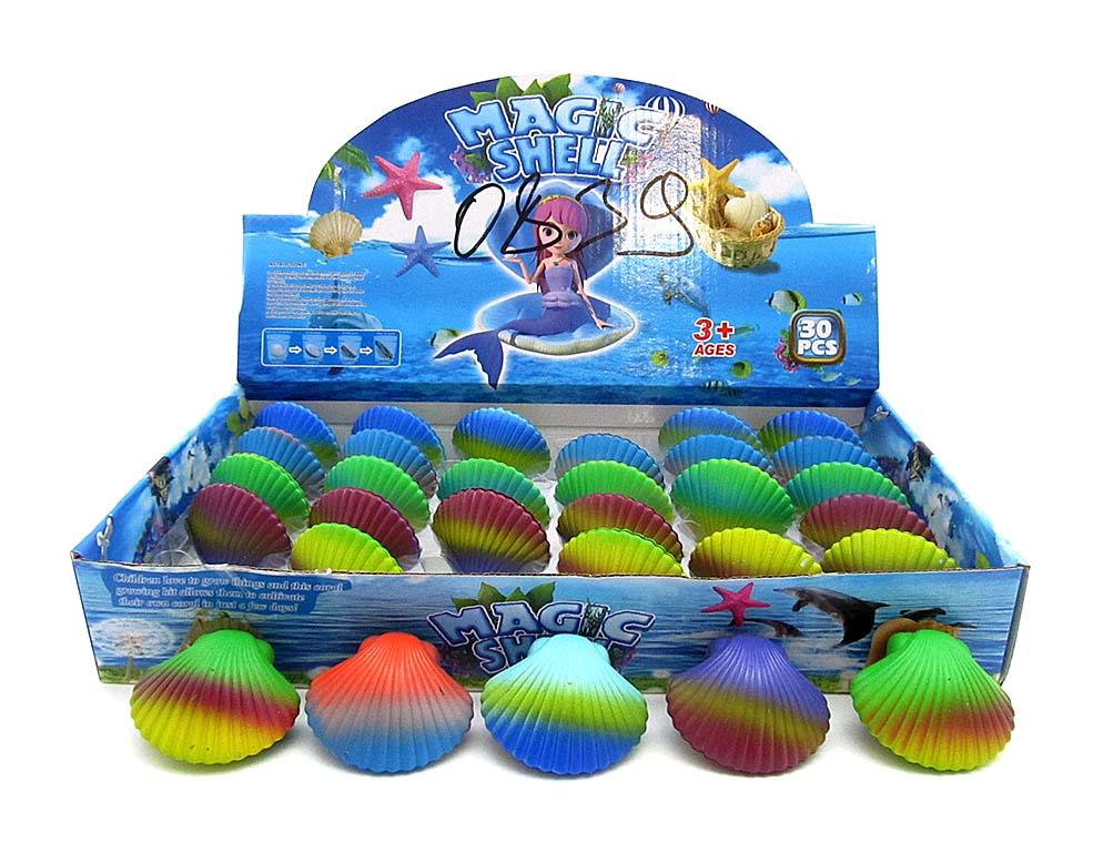 Животные морские в ракушке №Z0839, растут в воде, 6*5см