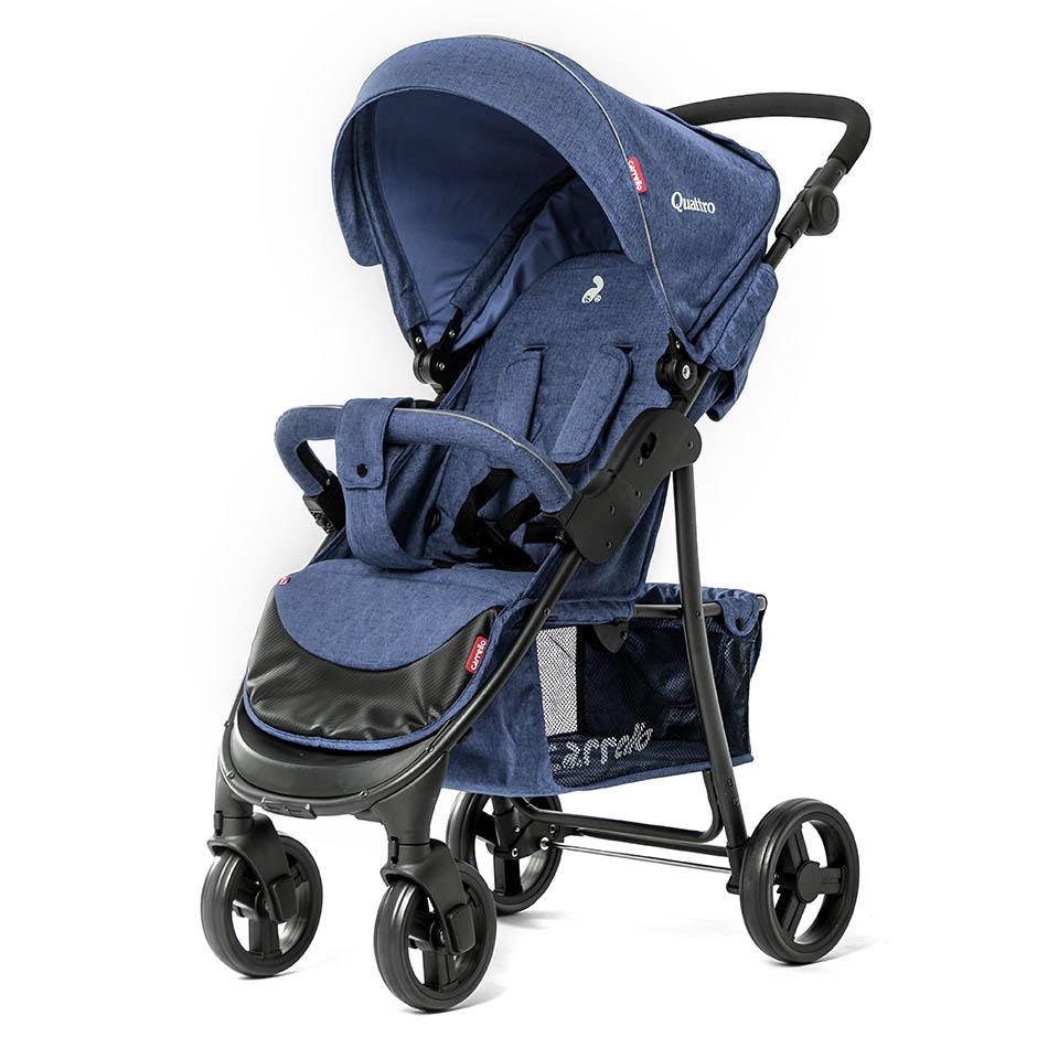 Детская коляска CARRELLO Quattro CRL-8502  Water Blue