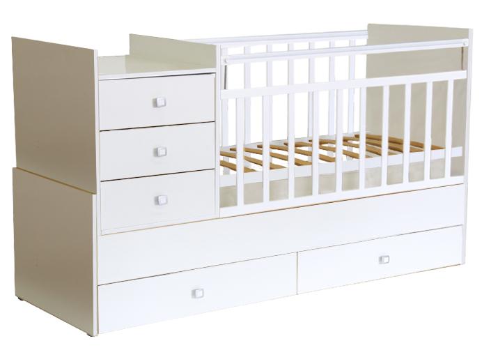 Кровать детская Фея 1000 белая