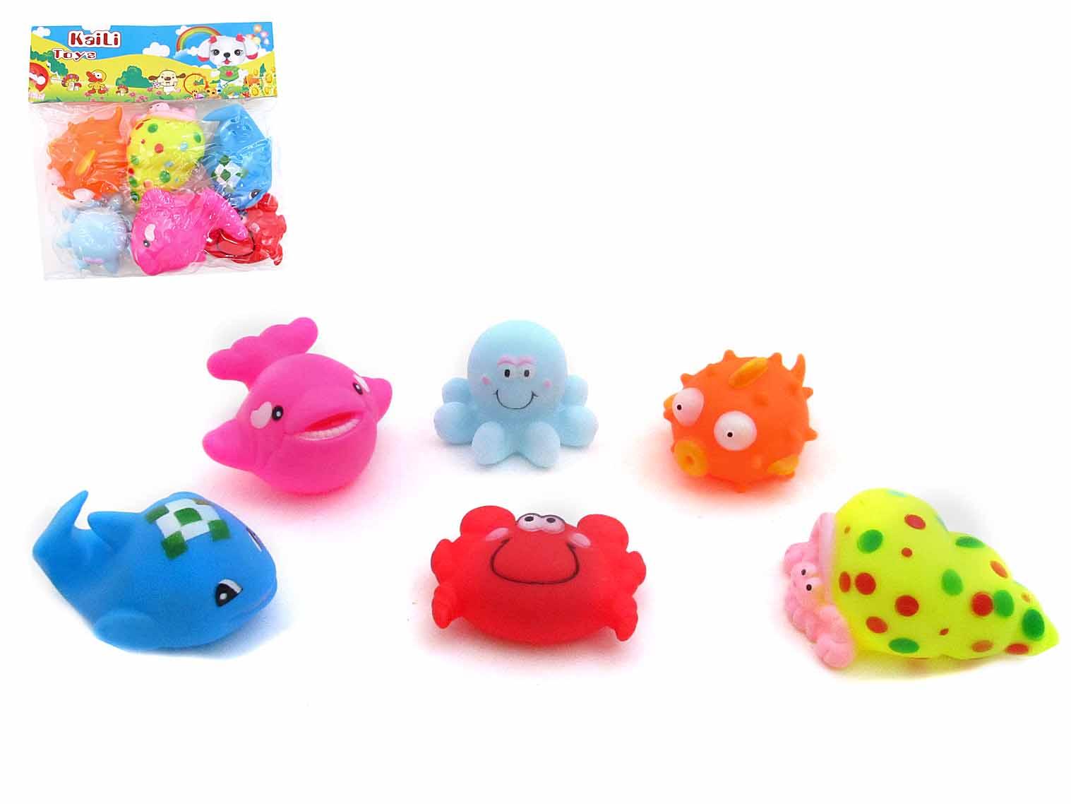 Набор игрушек для купания 6172