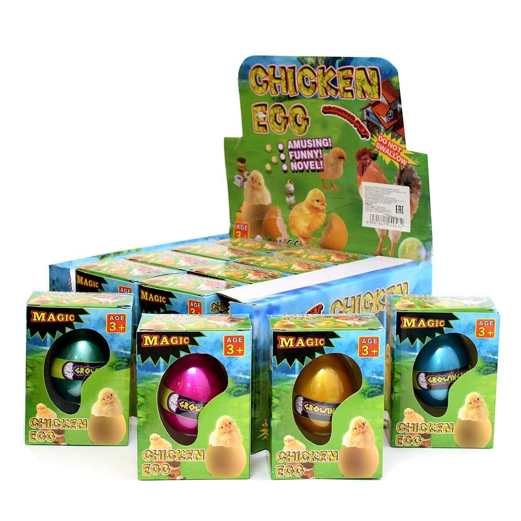 Цыпленок в яйце ,12шт 443-11 по шт