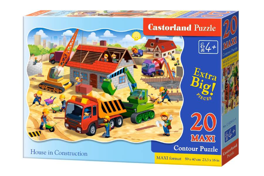 Пазл Касторленд  20 MAXI 02412