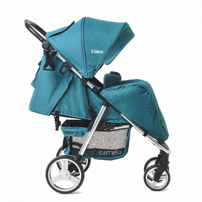 Детская коляска CARRELLO  Unico  CRL-8507 Water Blue