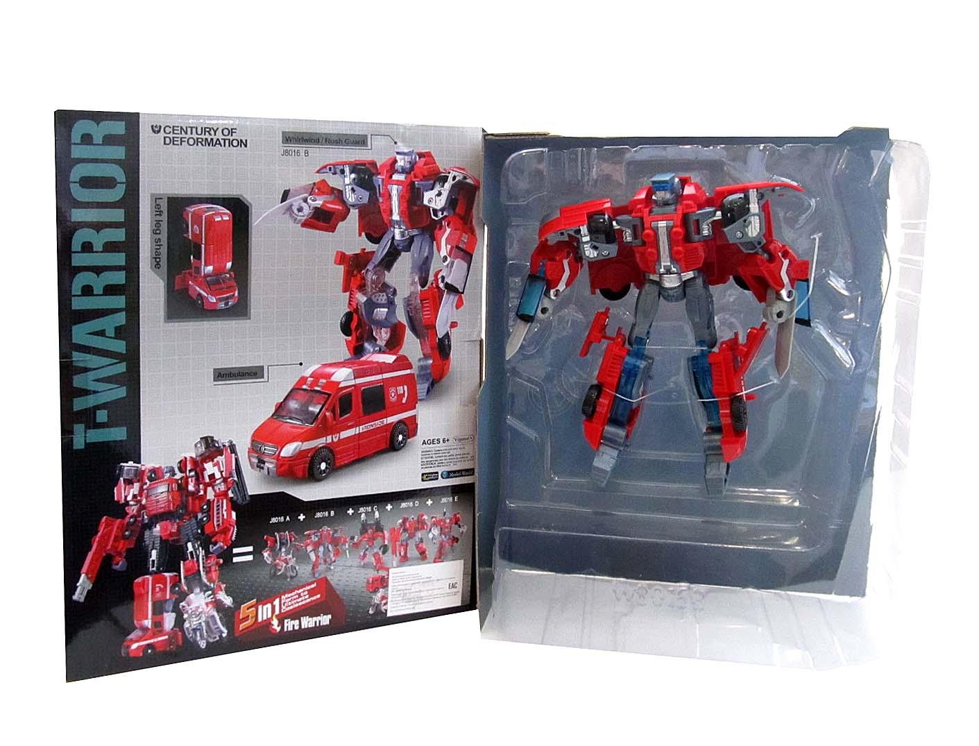 Робот Трансформер J8016B