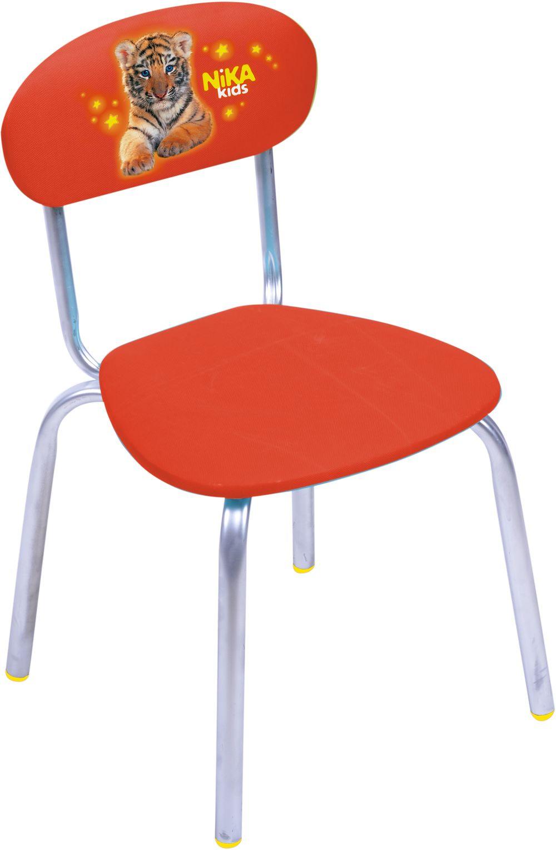 Стул детский СТУ6  тигренок (красный)