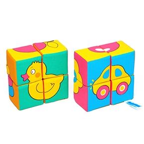"""Игрушка кубики """"Собери картинку"""" (Предметы) (8 кубиков) (Арт. 335)"""