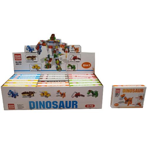 Конструктор Динозавры 608