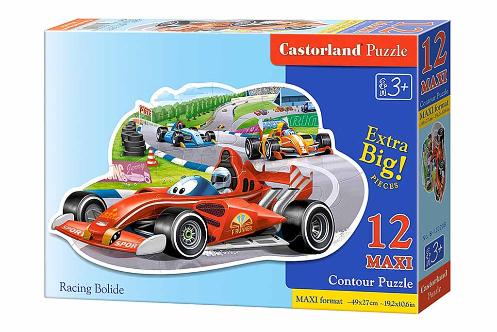 Пазл Касторленд  12 MAXI 120208