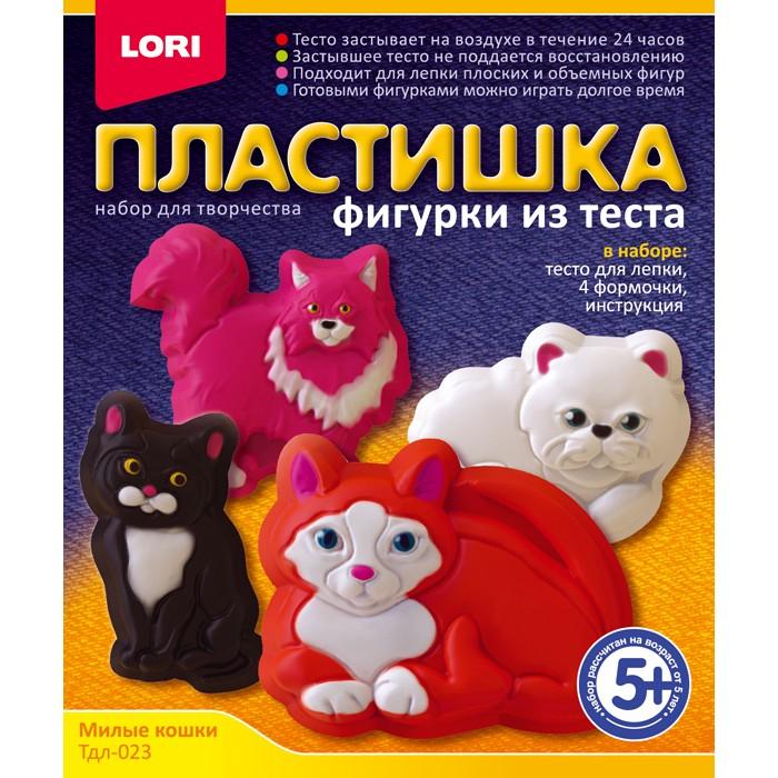 """Фигурки из теста """"Милые кошки""""Тдл-023"""