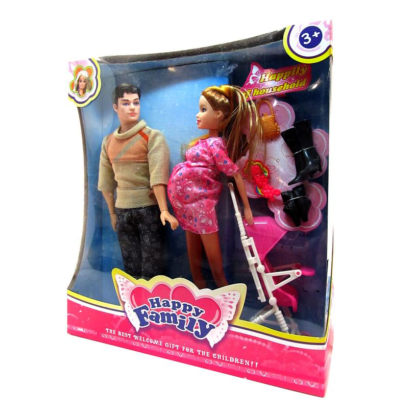 Набор кукол №88008 «Семья»/коробка/34*30*9