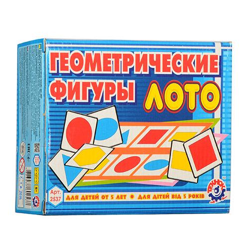 Лото 2537 Геометрические Фигуры (40шт)