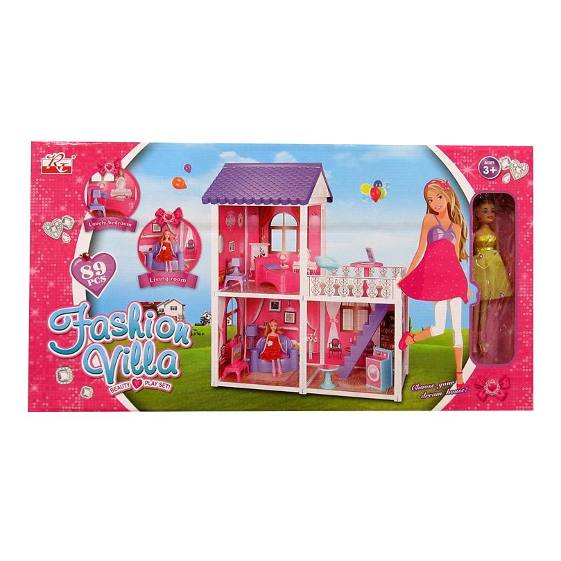 Игровой дом для кукол №971/коробка/68*37*12