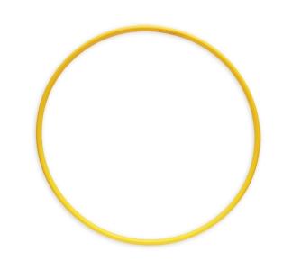 ОБРУЧ (диаметр 60 см, желтый) (Арт. ОГ-8568) кратно 10
