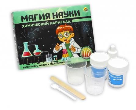 """Магия Науки """"Химический мармелад"""" (арт.842). Набор для проведения опытов детский"""