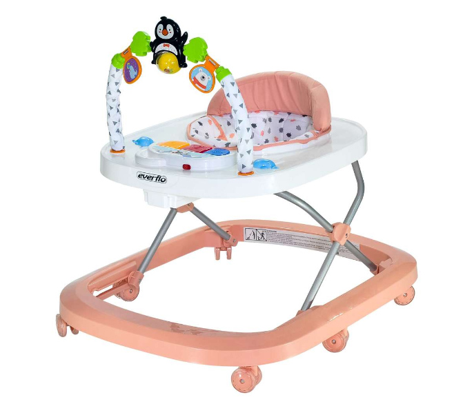 Ходунки Everflo Penguin rose WT708