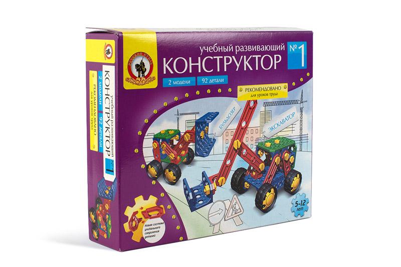 Учебно-развивающий конструктор №1 6545