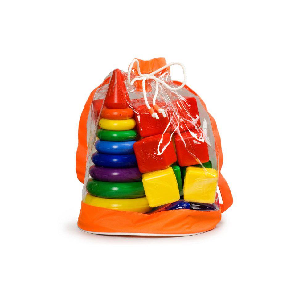 Набор  Радуга Макси/ пирамида+кубики 5030