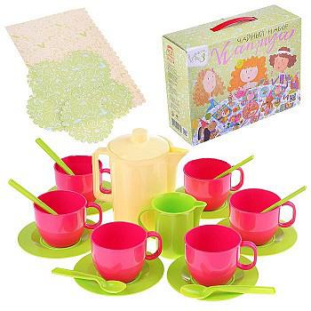 Чайный набор посуды Каприза 2173