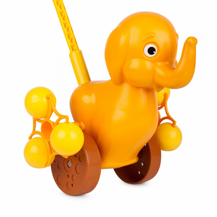 Каталка на палочке Солнечный Слонёнок 9271