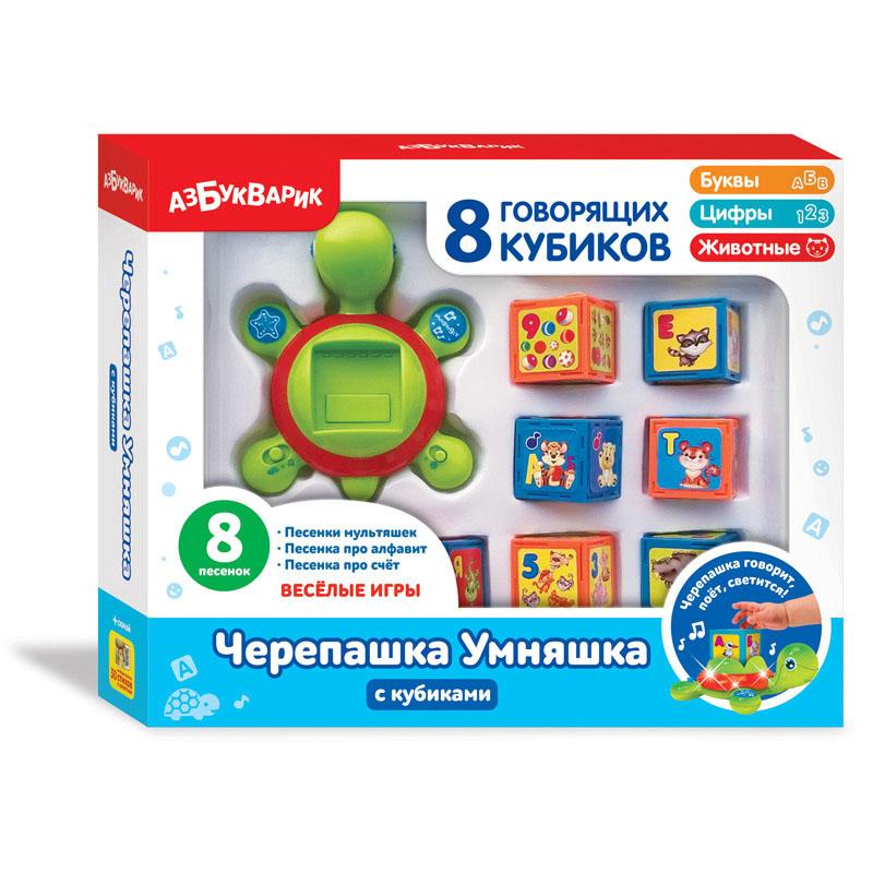 Черепашка Умняшка с кубиками 2244