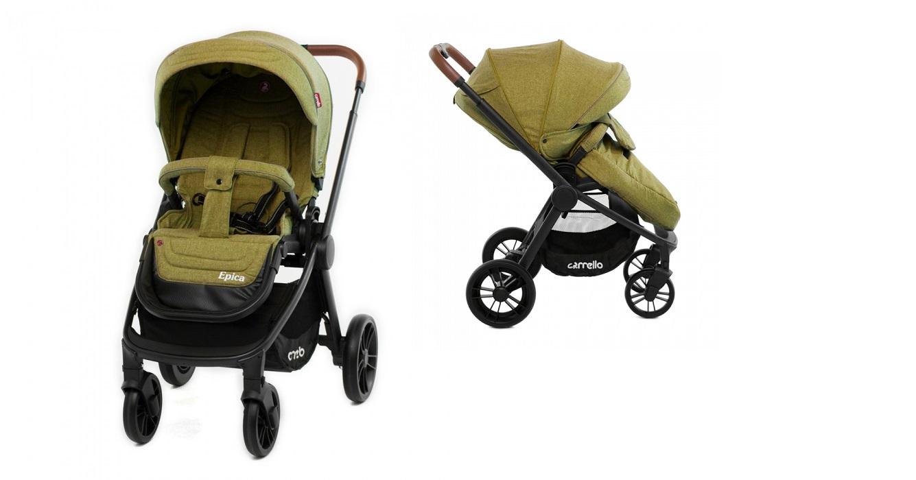 Детская коляска CARRELLO  Epica CRL-8509  Olive Green
