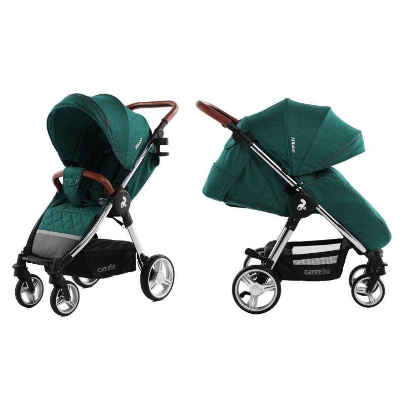 Детская коляска CARRELLO  Milano  CRL-5501 Aqua Green
