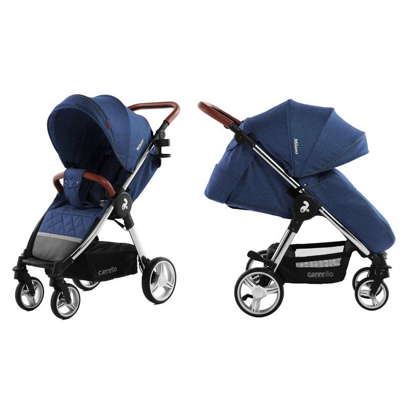 Детская коляска CARRELLO  Milano  CRL-5501 Velvet Blue
