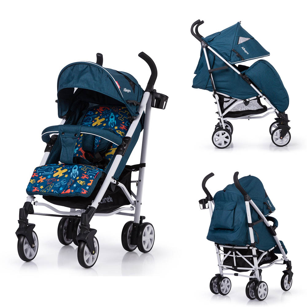 Детская коляска CARRELLO Allegro CRL-10101/1 Aviation Blue