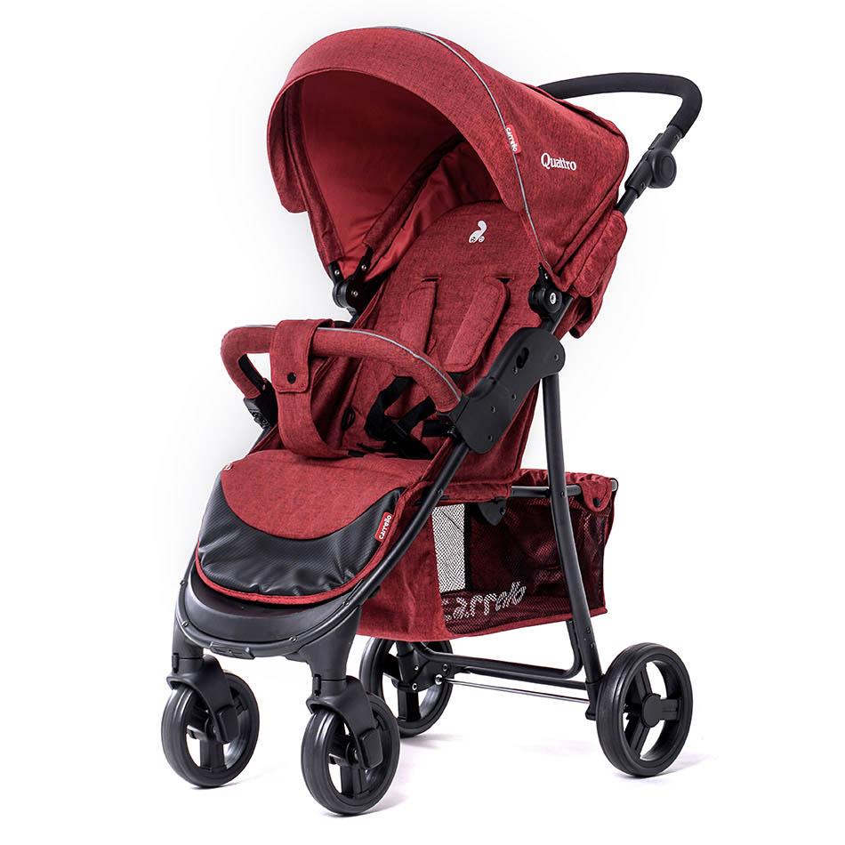 Детская коляска CARRELLO Quattro CRL-8502  Deep Red