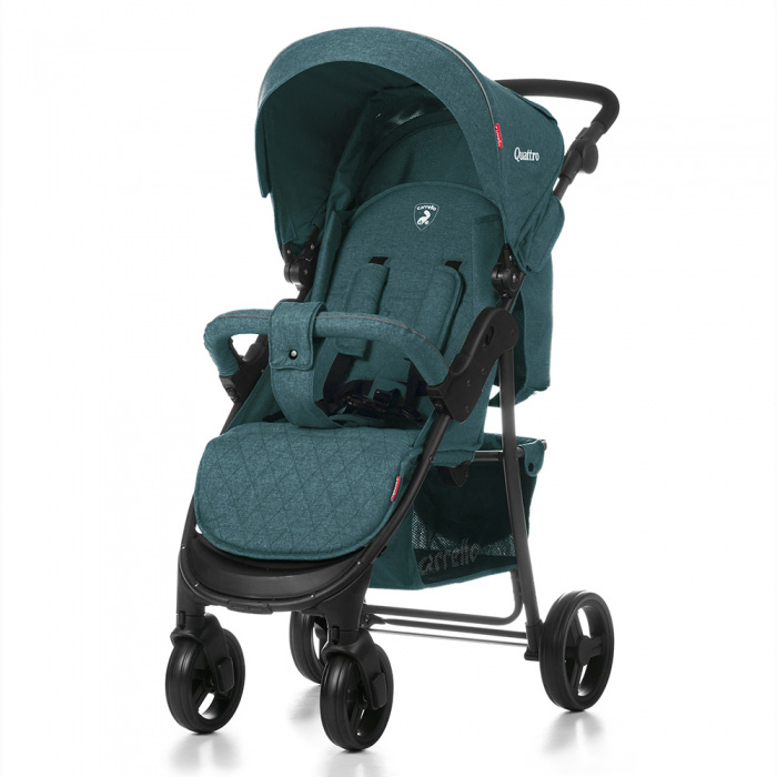 Детская коляска CARRELLO Quattro CRL-8502 GREEN / Emerald