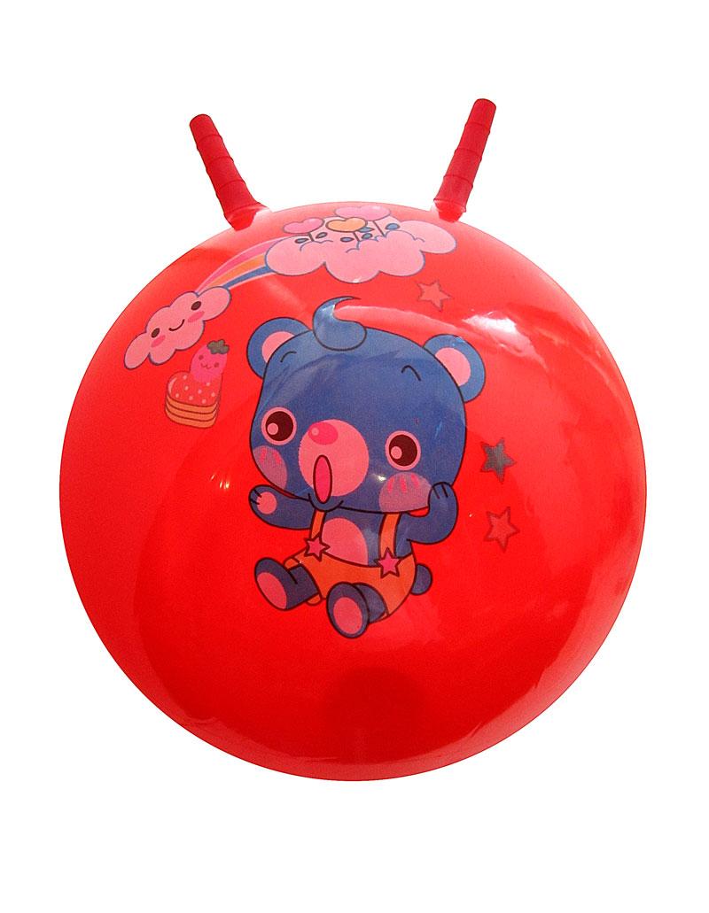 Мяч прыгун с рожками 25172-9