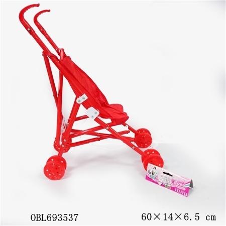 Коляска 3288-6F д/кукол в пакете 25*9*15,5