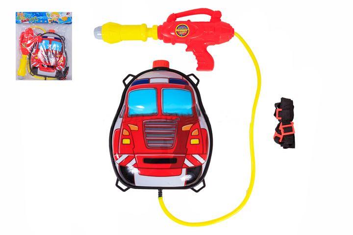 оружие игрушечное (водное), с рюкзачком 6400