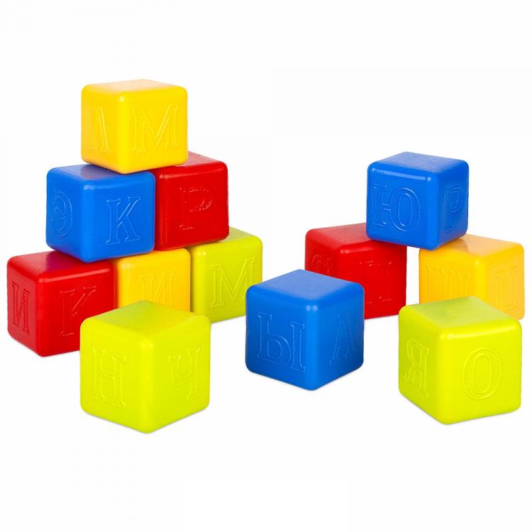 Кубики Азбука / 12 штук 9376