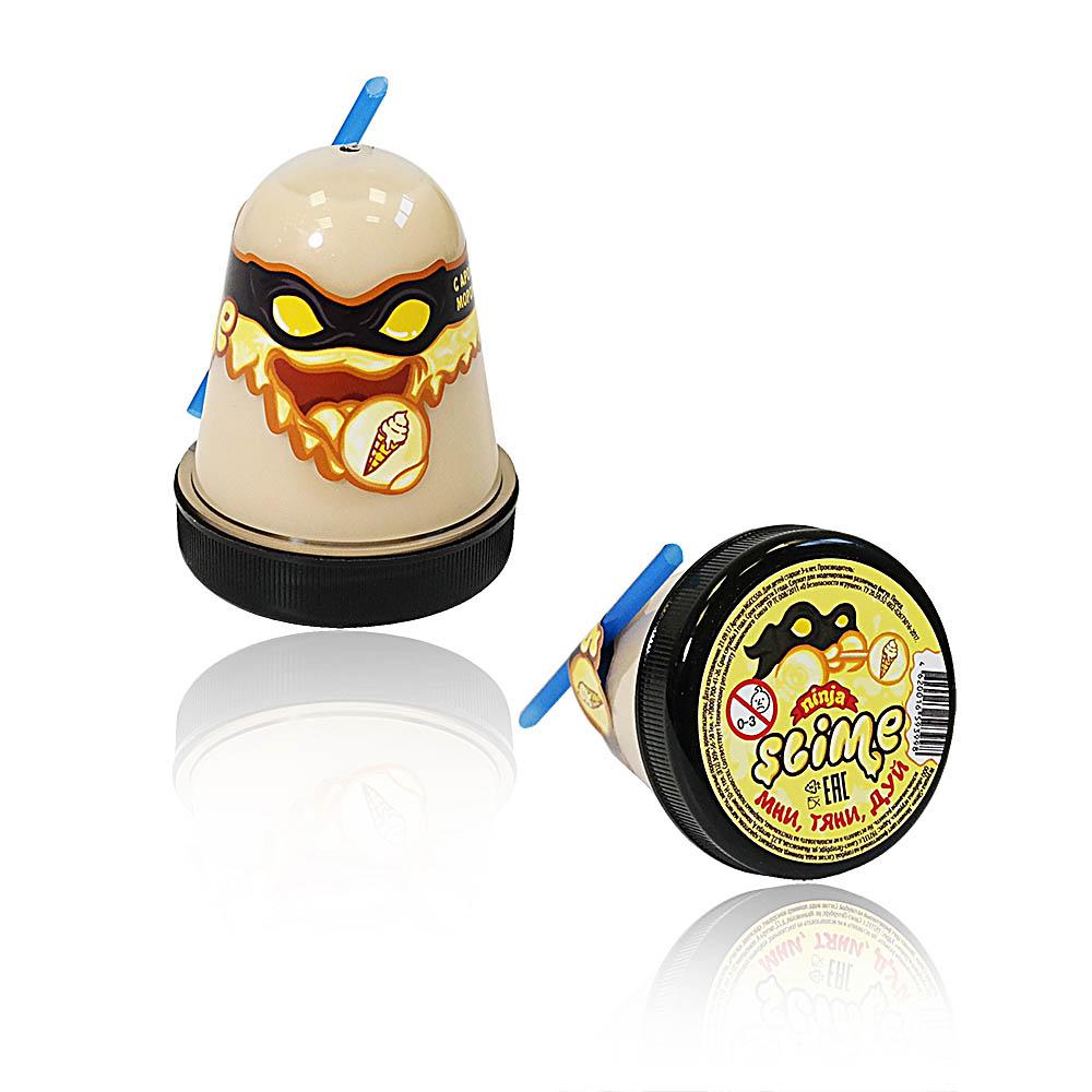 """Игрушка ТМ """"Slime """"Ninja"""" 130-15 с ароматом мороженого 130 г."""
