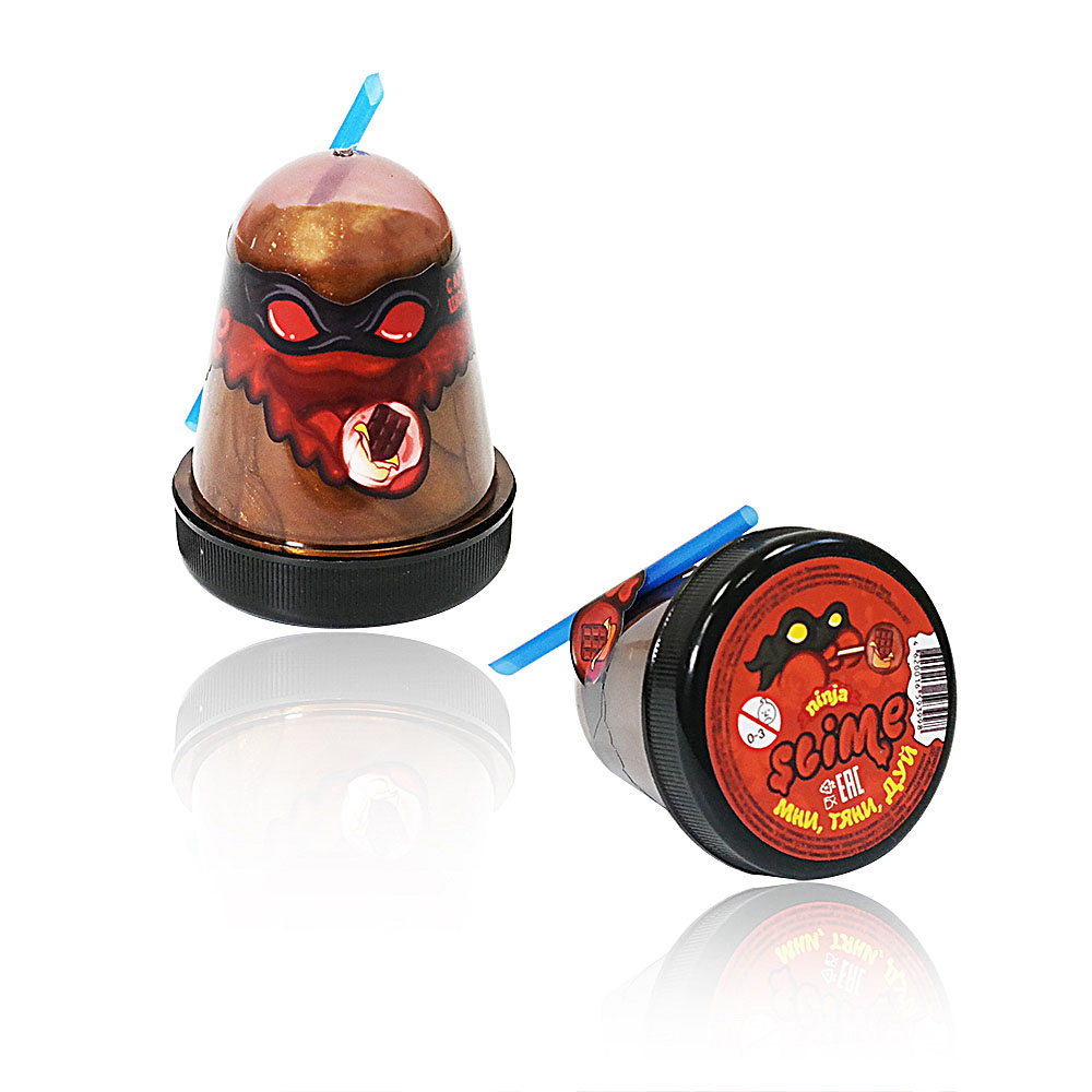 """Игрушка ТМ """"Slime """"Ninja""""130-14 с ароматом шоколада, 130 г"""