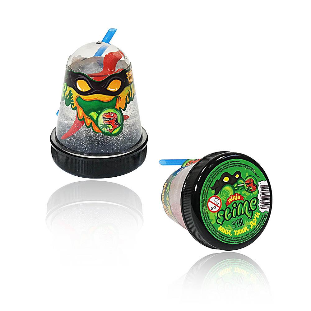 """Игрушка ТМ """"Slime """"Ninja""""130-13 Затерянный мир, динозавр, 130 г."""