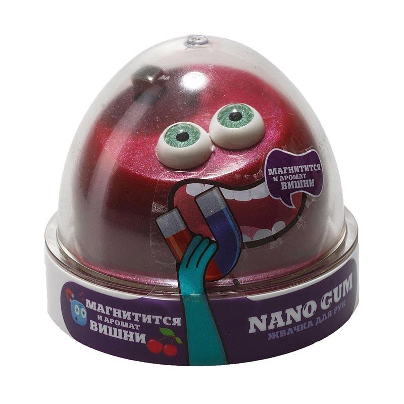 "NGAVM50 ""Жвачка для рук ""Nano gum"", магнитится, с ароматом Вишни"", 50 гр."