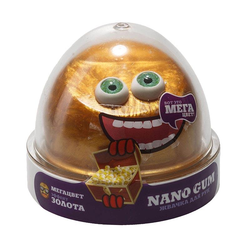 "NGCG50 ""Жвачка для рук ""Nano gum"", эффект золота"", 50 гр."
