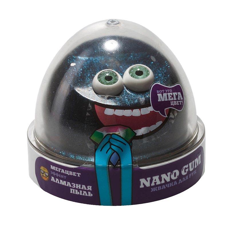 "NGCAP50 ""Жвачка для рук ""Nano gum"",  эффект алмазной пыли"", 50 гр."