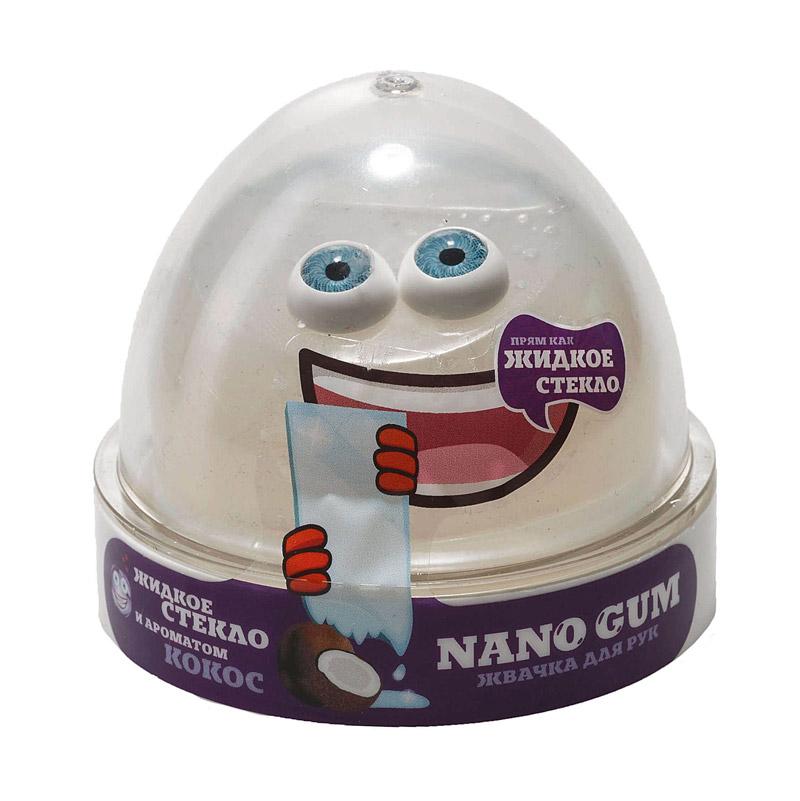 "NGLGAC50 ""Жвачка для рук ""Nano gum"", жидкое стекло с ароматом кокоса"", 50 гр."