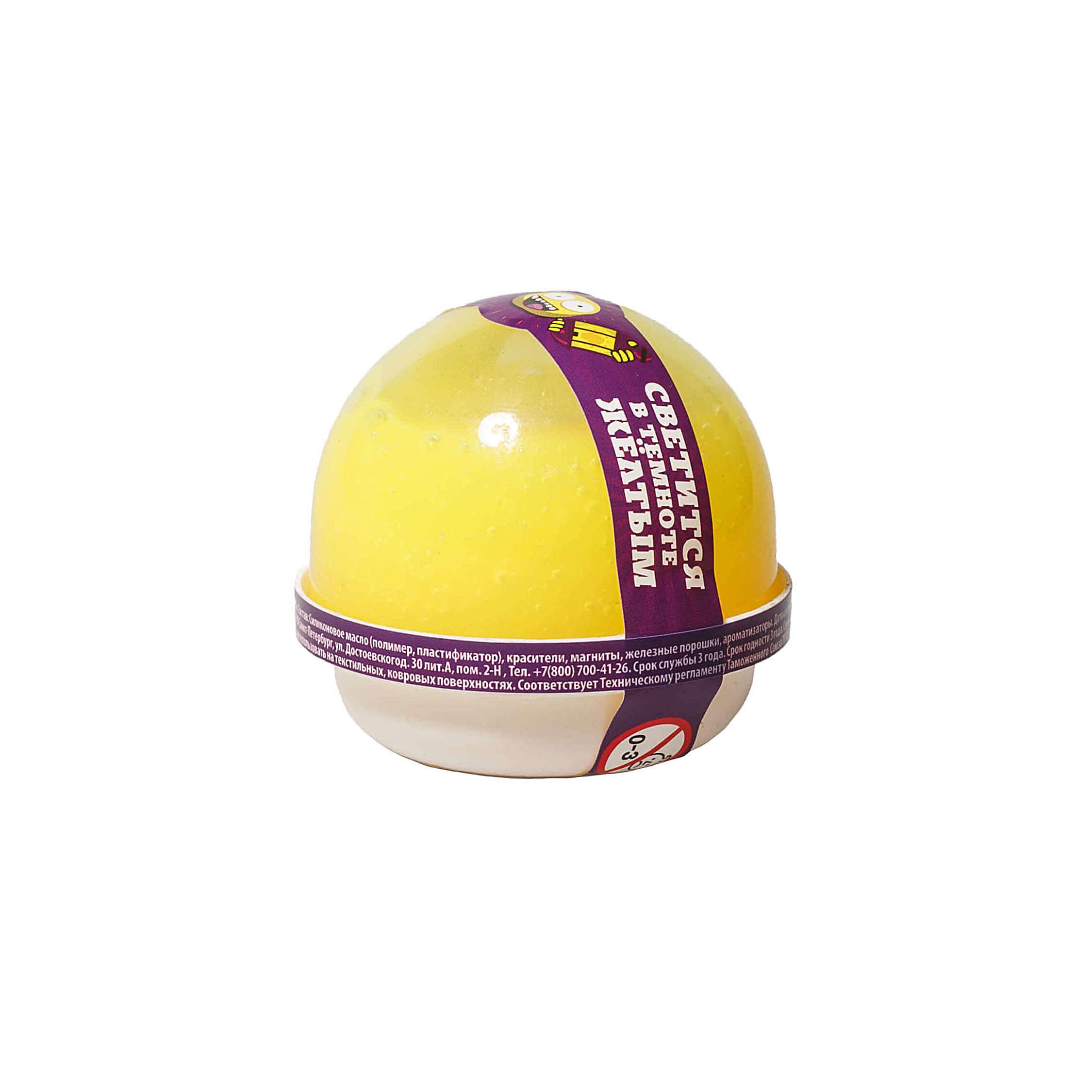 "NGYG25 ""Жвачка для рук ""Nano gum"", светится желтым"", 25 гр."