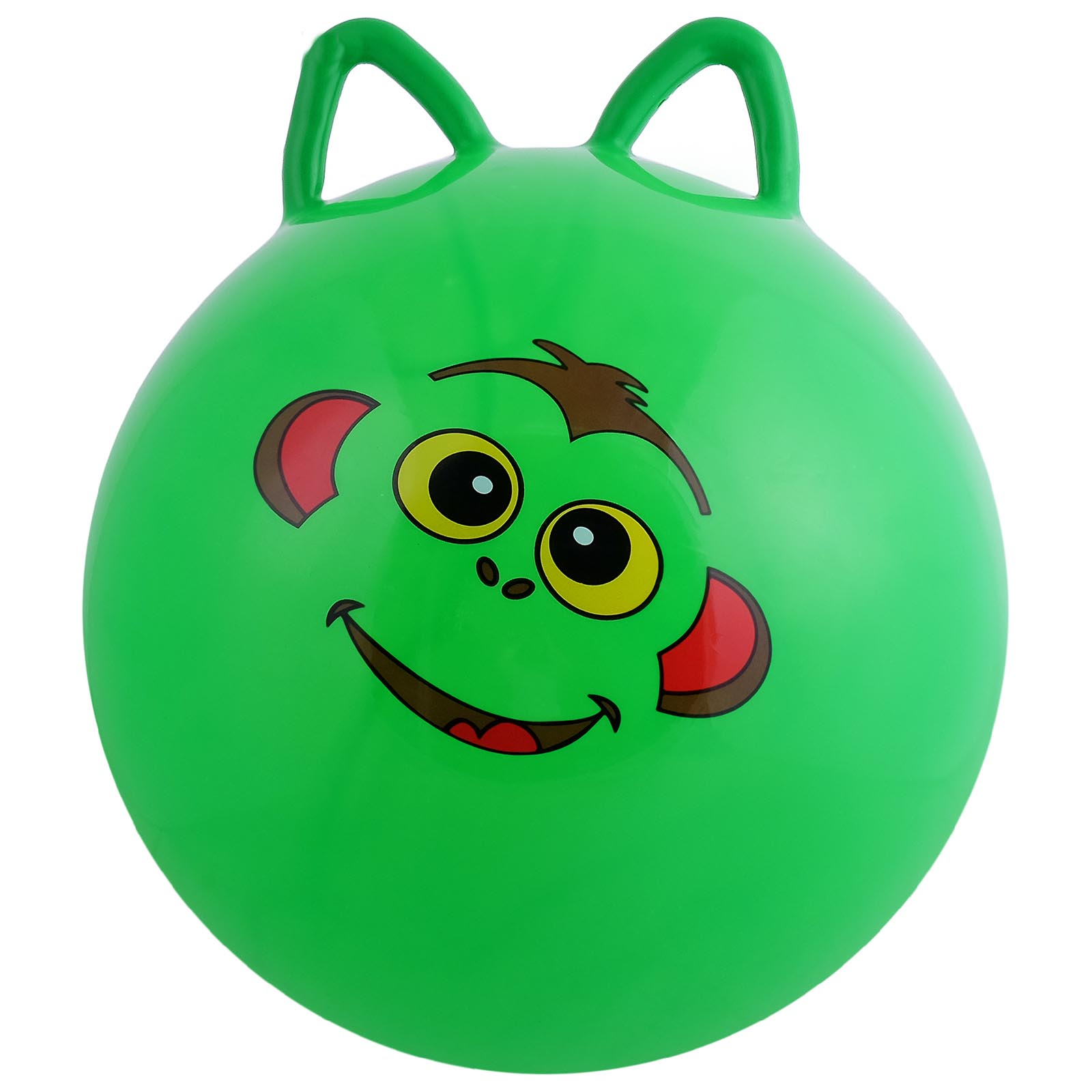 Мяч прыгун с ушками №Z0183 /d-45/350гр/цвет микс