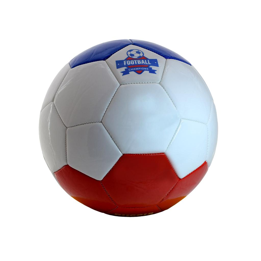 мяч футбольный №5 (2,7 мм PVC, 390 г), Russia 6414