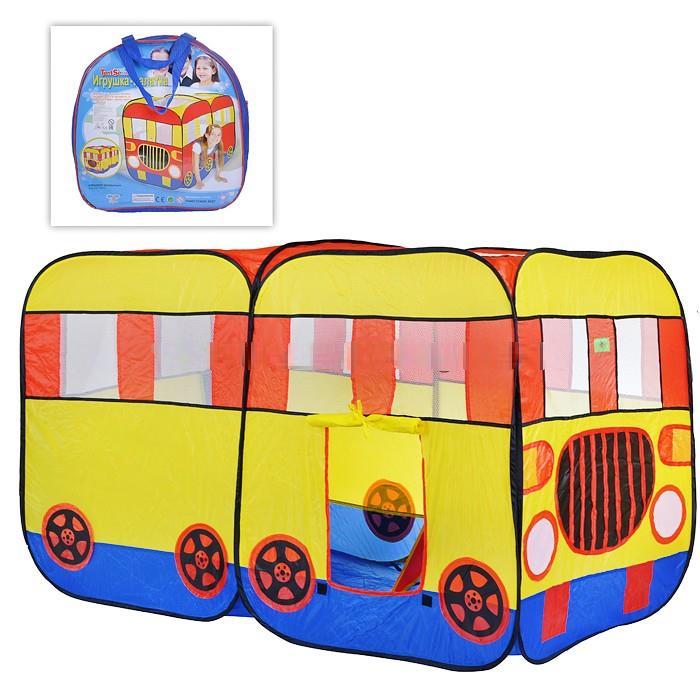палатка детская Автобус 148х75х98 см 6454
