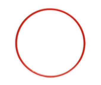 ОБРУЧ (диаметр 70 см, красный) (Арт. ОГ-8569) кратно 10