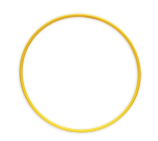 ОБРУЧ (диаметр 90 см, желтый) (Арт. ОГ-8579) кратно 10