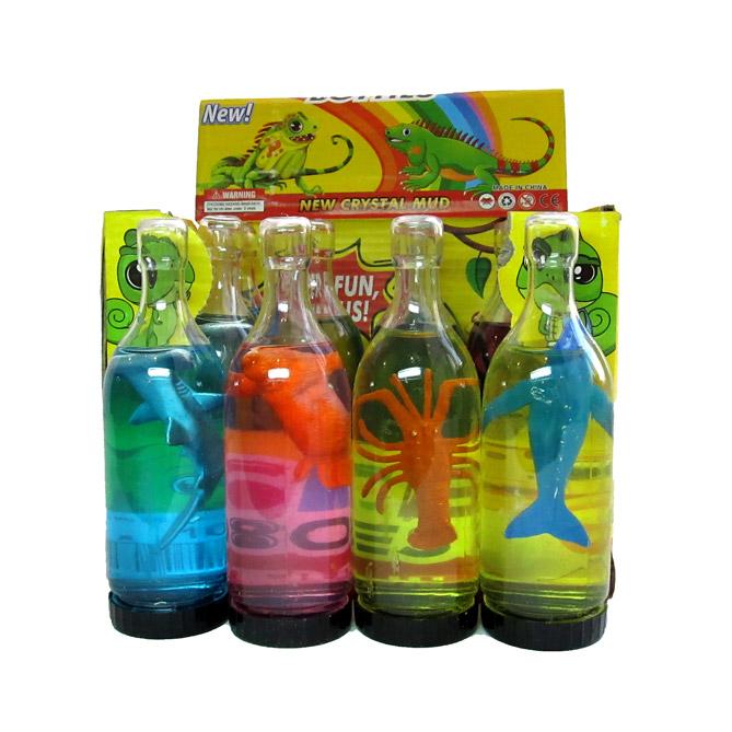 """Лизун № 990 """"Морские обитатели""""/бутылка 12,55*3,5 см.."""