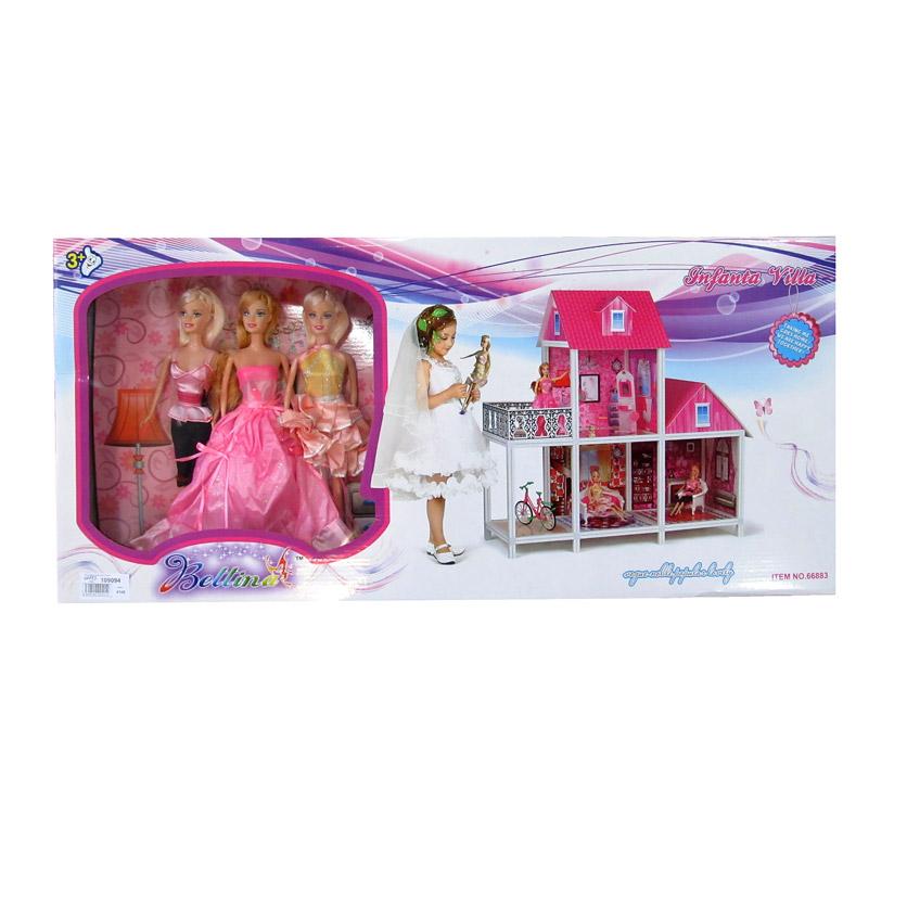 Игровой дом для кукол №66883/коробка/72*13*36