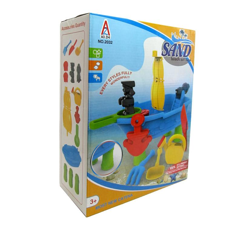 Набор для игры в песочнице №2032/коробка/30*23*11